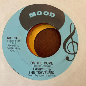 Larry T & the Travelers - Ramblin' (Used 45)