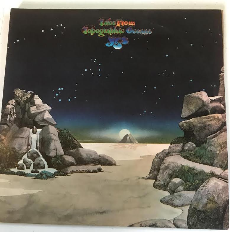 Yes - Topographic Oceans (Used LP)