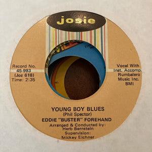 "Eddie ""Buster"" Forehand - Young Boys Blues (Used 45)"