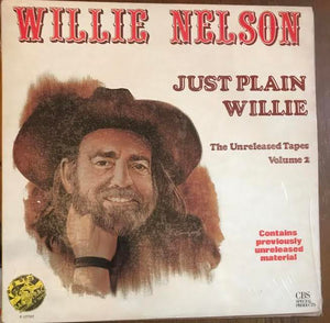 Willie Nelson - Just Plain WIllie: Unreleased Tapes Volume 2 (Used LP)