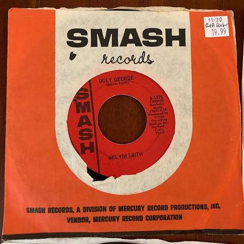 Melvin Smith - Ugly George (Used 45)