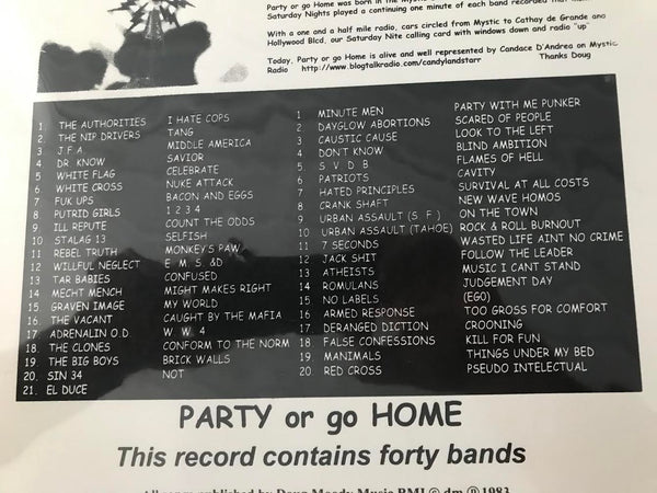 Various Artists - Party Or Go Home