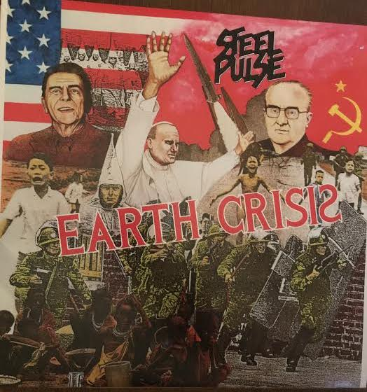 Steel Pulse - Earth Crisis (Used LP)