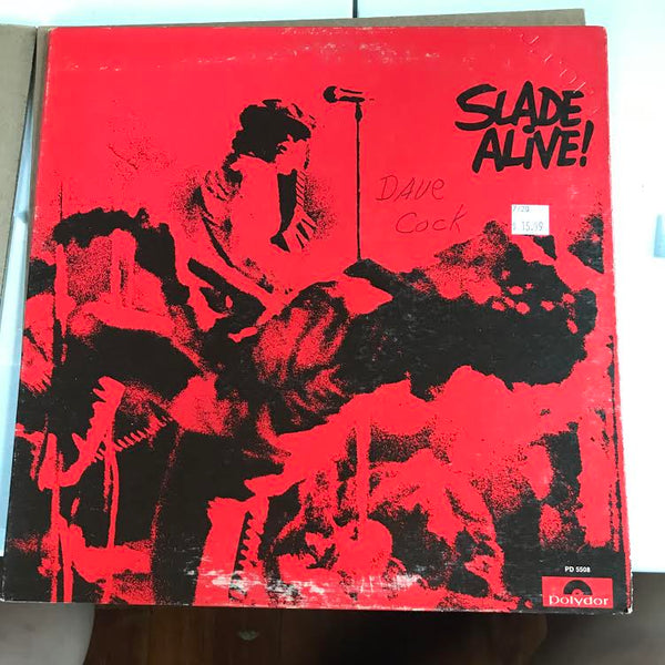 Slade - Alive! (Used LP)