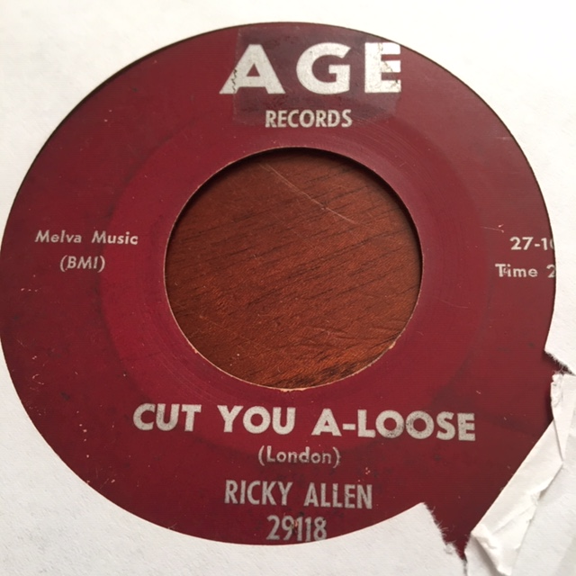 Ricky Allen - Cut You A-Loose