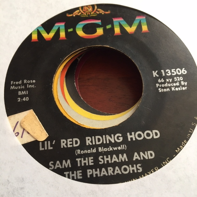 Sam the Sham - Lil' Red Riding Hood