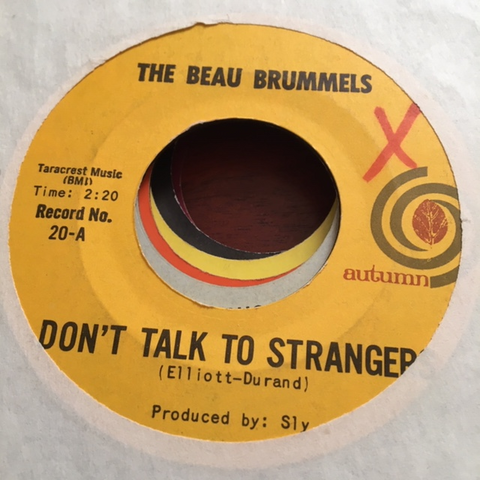 Beau Brummels - Don't Talk to Strangers