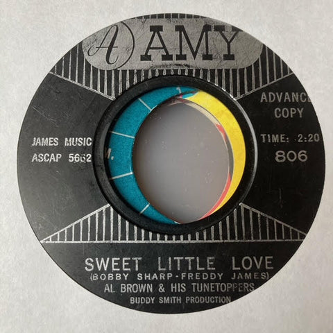 Al Brown & His Tunetoppers - Sweet Little Love (Used 45)