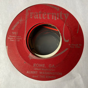 Albert Washington & the Kings - Tellin' All Your Friends (Used 45)