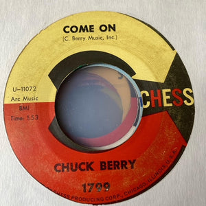 Chuck Berry - Come On (Used 45)