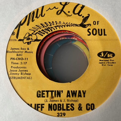 Cliff Nobles & Co. - Gettin Away (Used 45)