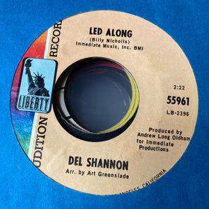 Del Shannon - Led Along (Used 45)