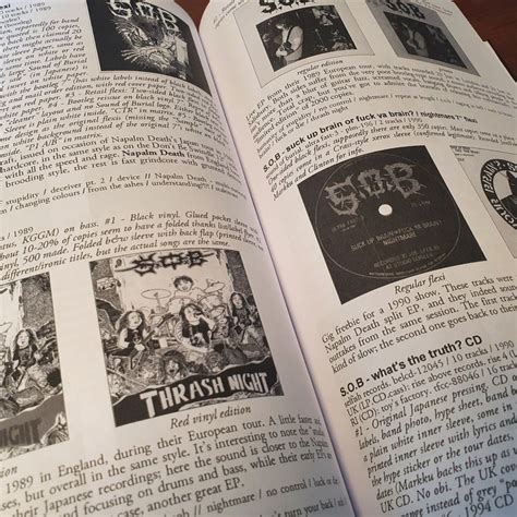 Copy of FLEX! Discography Of Japanese Punk Part 1 Hardcover Book