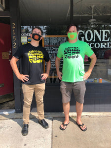 Gonerfest 17 T-Shirt Men's Yellow On Green