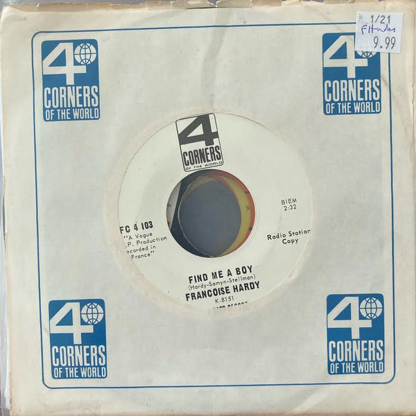 Francois Hardy - Find Me a Boy (Used 45)