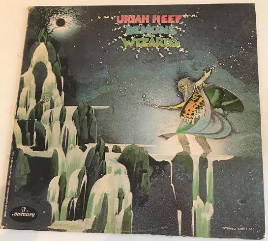 Uriah Heep - Demons and Wizards (Used LP)