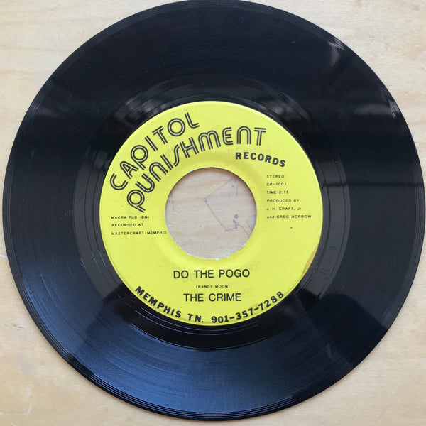 The Crime - Do the Pogo 7""