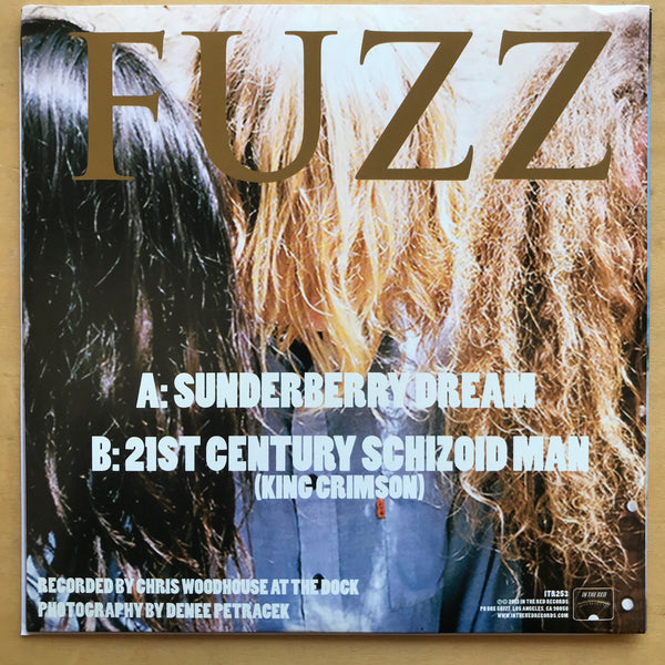 "Fuzz - Sunderberry Dream 7"" LIGHT BLUE WAX"