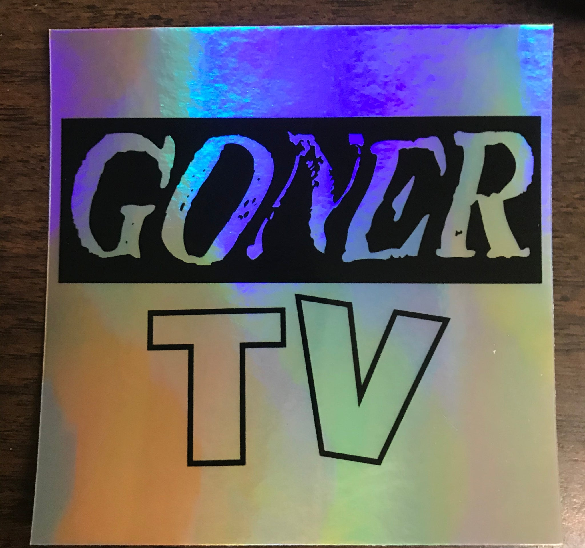 Goner TV Holographic Sticker