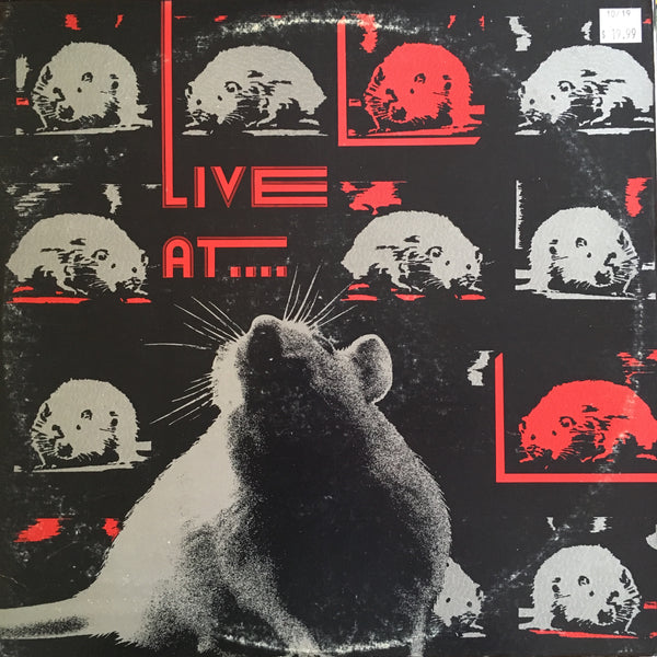 V/A - Live At The Rat (Used 2xLP)