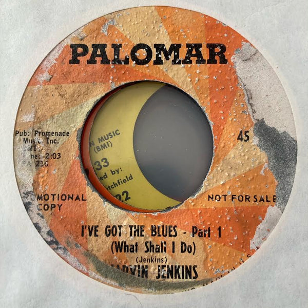 Marvin Jenkins - I've Got the Blues (What Shall I Do) (Used 45)