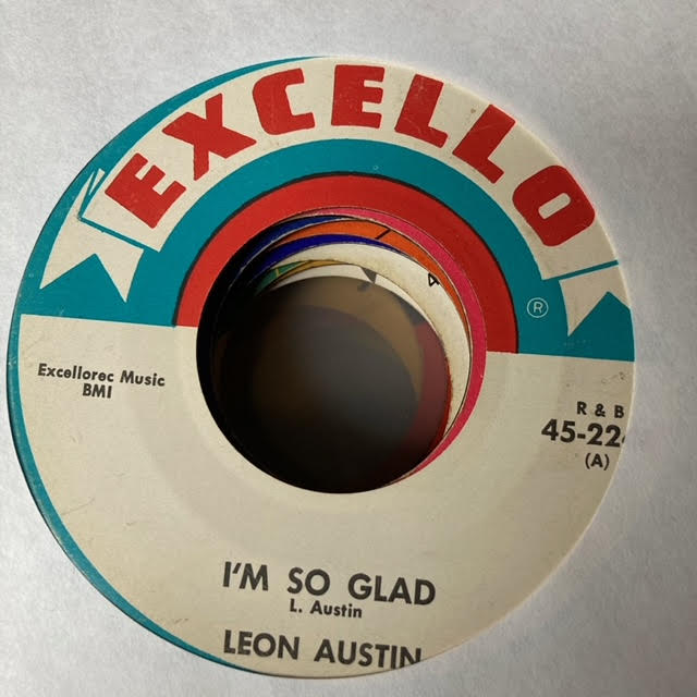 Leon Austin - I'm So Glad (Used 45)