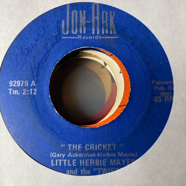 Little Herbie Mayes & the Twisters - The Cricket (Used 45)