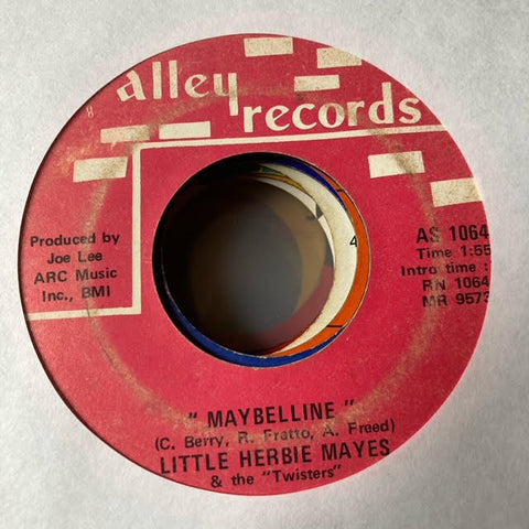 Little Herbie Mayes & the Twisters - Maybelline (Used 45)