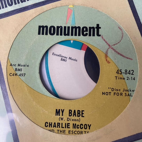 Charlie McCoy & the Escorts - Will You Love Me Tomorrow (Used 45