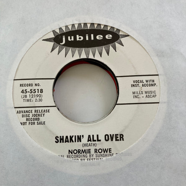 Normie Rowe - Shakin' All Over (Used 45)