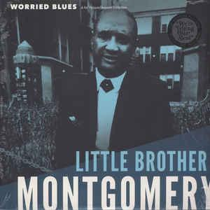 Little Brother Montgomery - Worried Blues Lp [Fat Possum] 767981160412