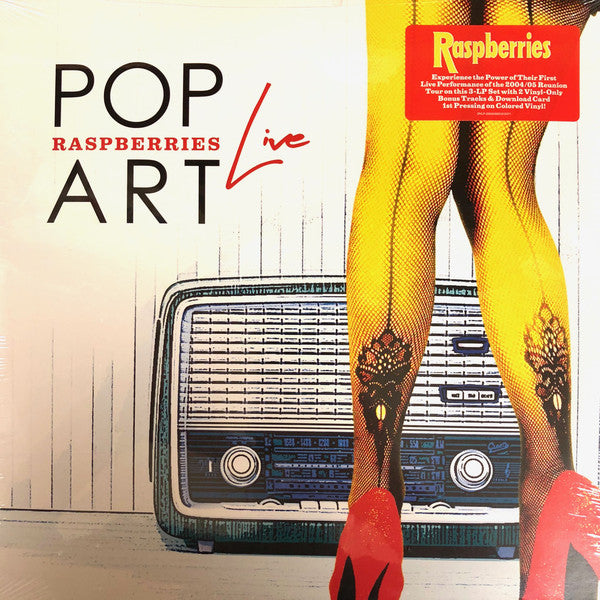 Raspberries - Pop Art Live