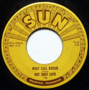 Hot Shot Love - Wolf Call Boogie