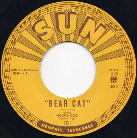 Rufus Thomas - Bear Cat