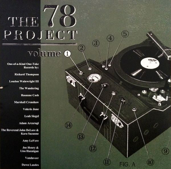 Various Artists - 78 Project: Volume 1