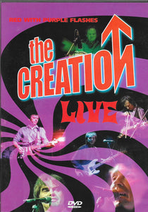 Creation - Live: Red With Purple Flashes