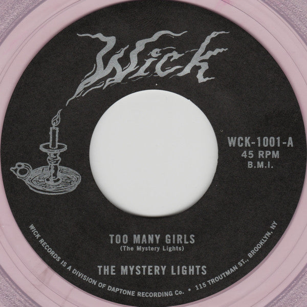 Mystery Lights - Too Many Girls