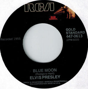 Elvis Presley - Blue Moon/Just Because