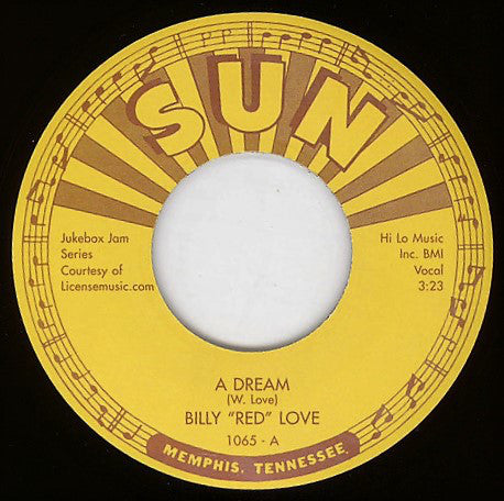 "Billy ""Red"" Love - A Dream / Hey Now"