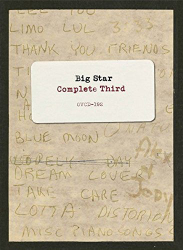 Big Star Cd - Complete Third