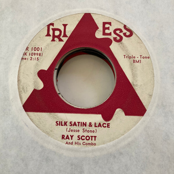 Ray Scott - Silk, Satin, and Lace (Used 45)