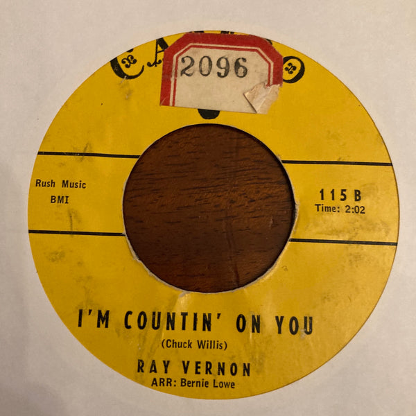 Ray Vernon - I'm Counting On You (Used 45)