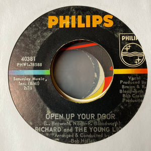 Richard and Young Lions - Open Up Your Door (Used 45)