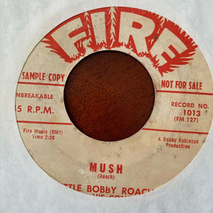 Little Bobby Roach & his Combo - Mush (Used 45)