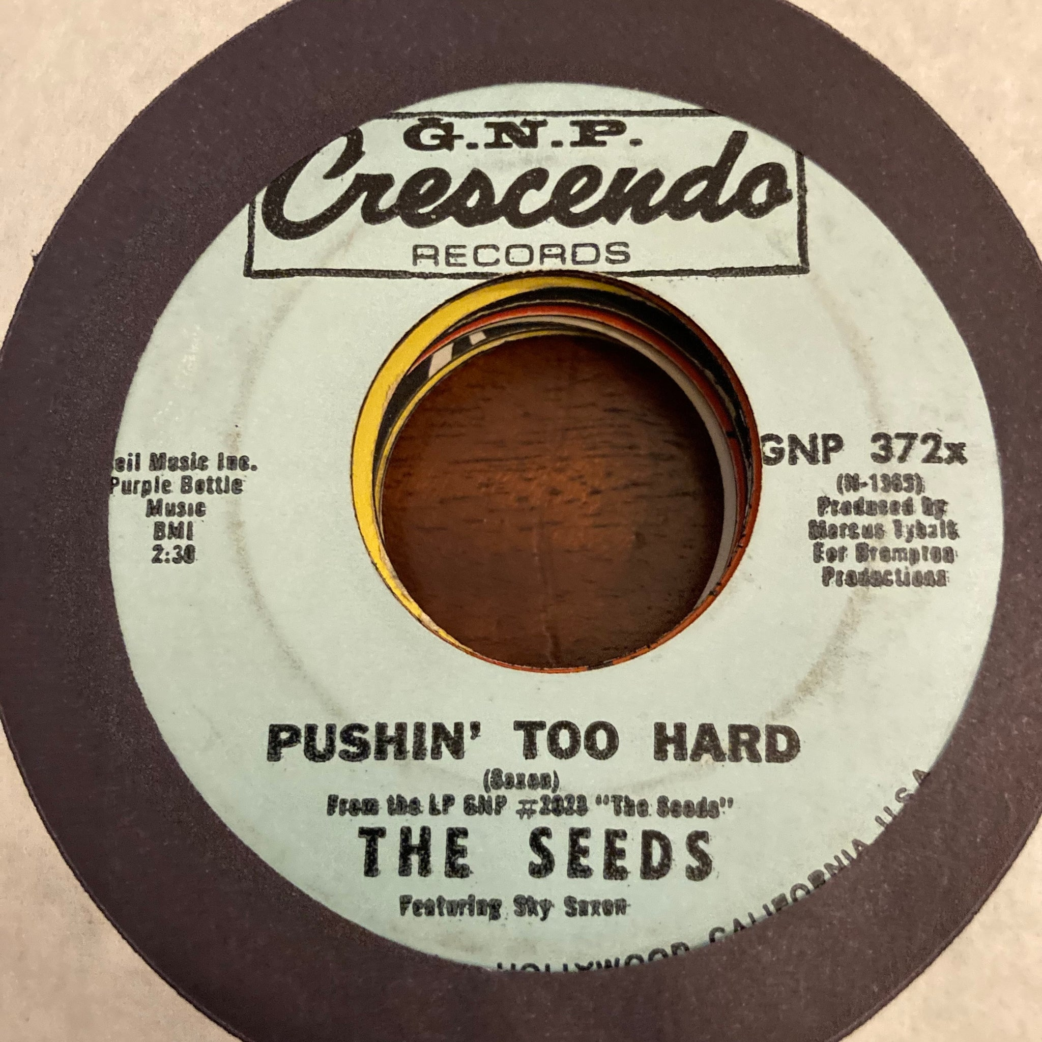 Seeds - Pushin' Too Hard (Used 45)