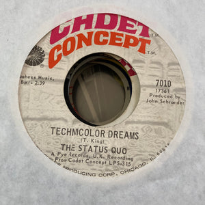 Status Quo - Technicolor Dreams (Used 45)