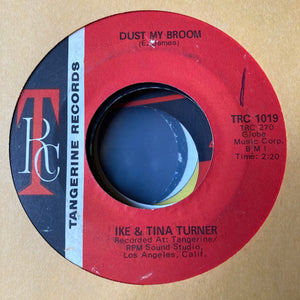 Ike & Tina Turner - Dust My Broom (Used 45)