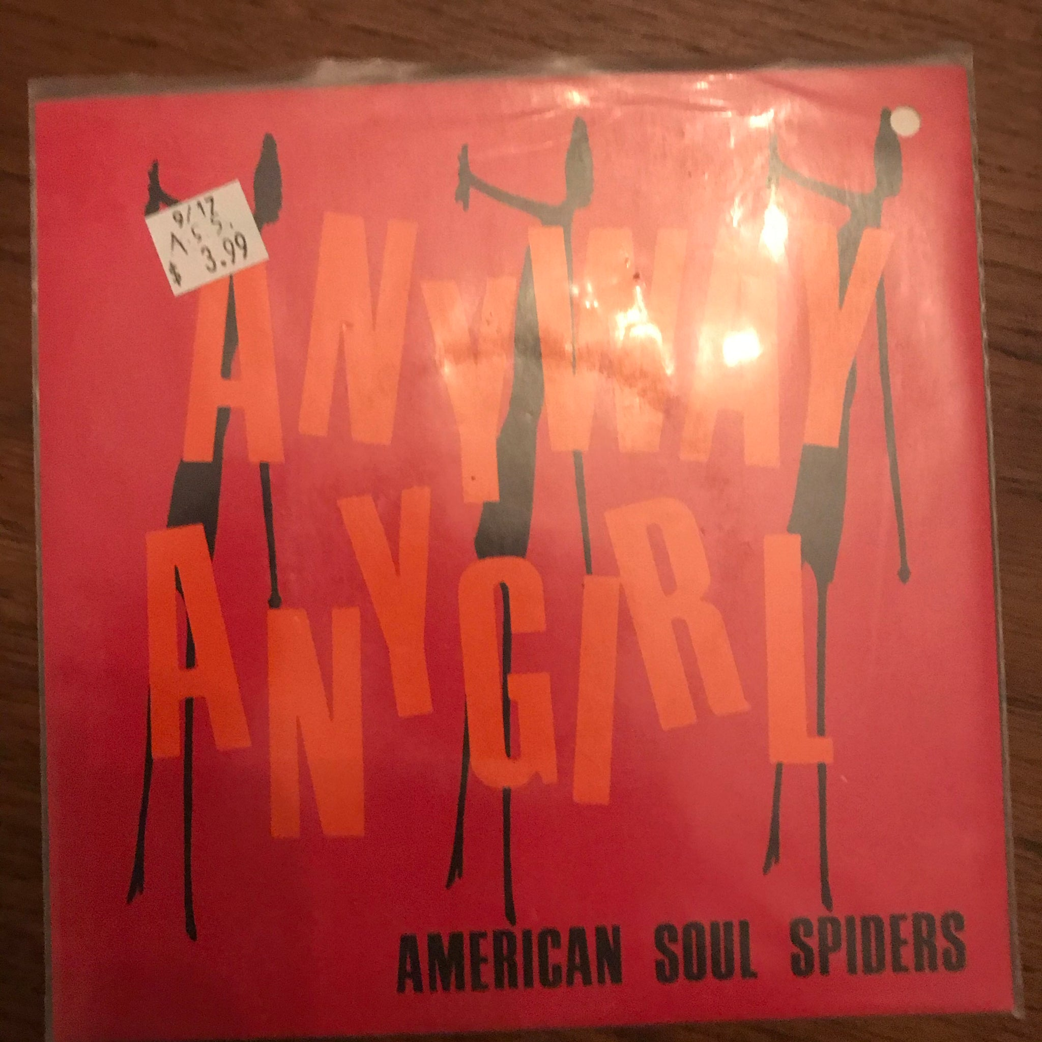 American Soul Spiders - Anyway Anygirl 7""
