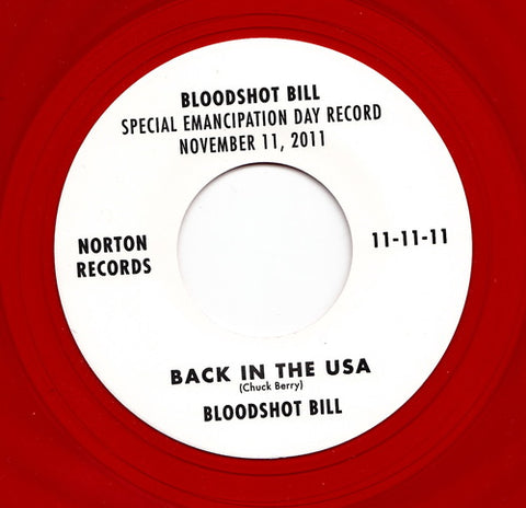 Bloodshot Bill - Back in The USA
