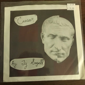Ty Segall - Caesar / Bullet Proof Nothing CLEAR VINYL 7""